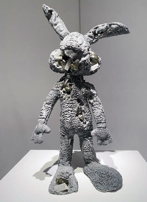 OKETA COLLECTION:ダニエル・アーシャムのPyrite Eroded Rabbit