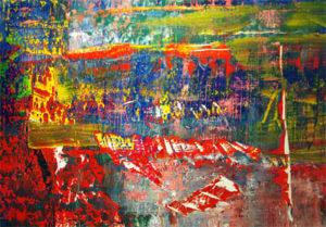 OKETA COLLECTION:ゲルハルト・リヒターのAbstract Painting (940-3)の近写
