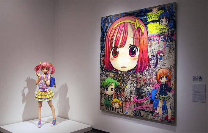 OKETA COLLECTION:Mr.のアート作品「絵:ツルゲーネフ/人形:かりん -甘酸っぱい思い出-」