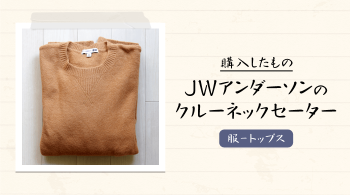 【ユニクロ×JWアンダーソン2020秋冬】ロエベのデザイナーが監修した上品なクルーネックセーターを購入|感想や写真など