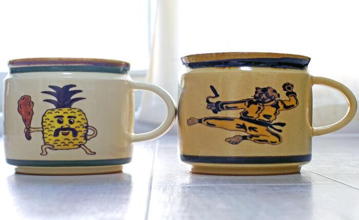 【おしゃれな日本製ブランド】京都の人気陶芸家「DAISAK(ダイサク)」のマグカップ|正面写真