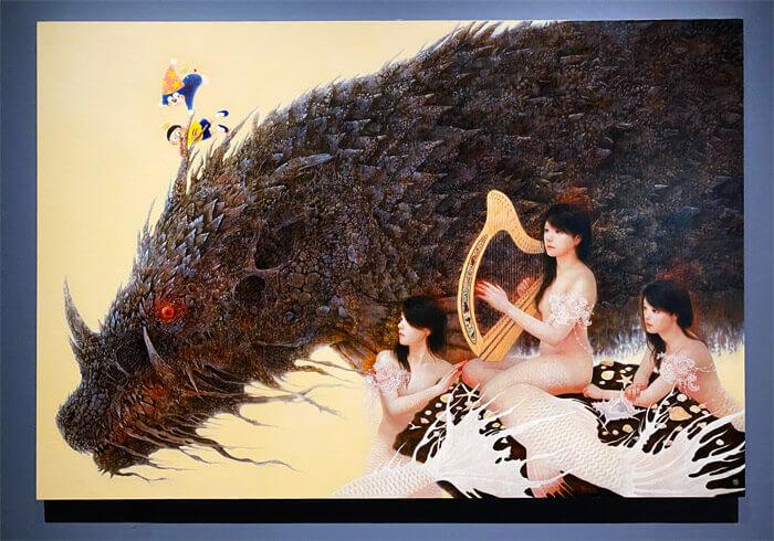 THE ドラえもん展 KYOTO 2021|篠原愛「To the Bright ~のび太の魔界大冒険~」