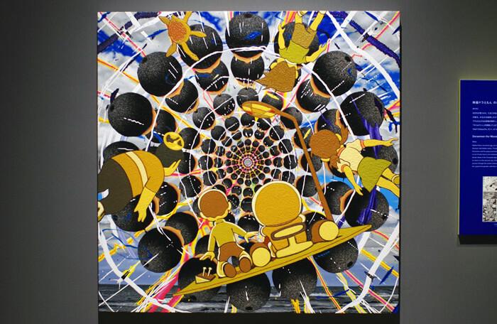 THE ドラえもん展 KYOTO 2021|山本竜基「山本空間に突入するドラえもんたち」