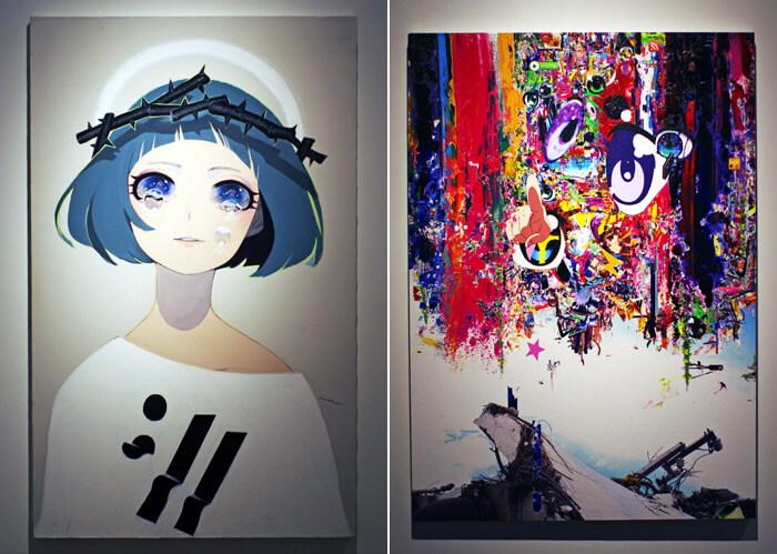 hima:// KAWAGOEと梅沢和木の作品 家入一真コレクション展 表現へのシナジー