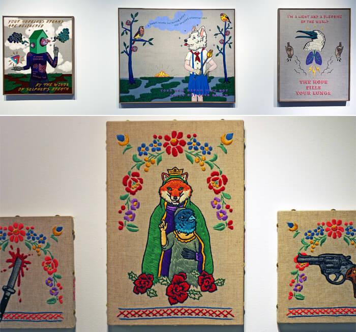 高木耕一郎の作品-その1- Art Exhibition<Un Nuevo Poder>