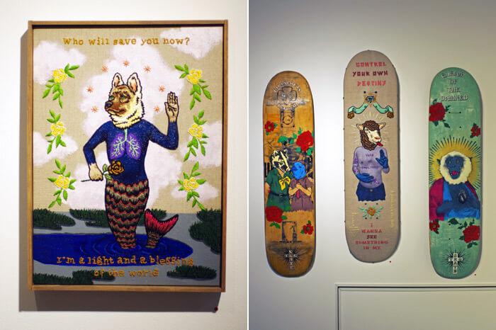 高木耕一郎の作品-その2- Art Exhibition<Un Nuevo Poder>