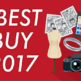 【2017年】- 買ってよかったもの5選 - ランキング形式でまとめてみた。